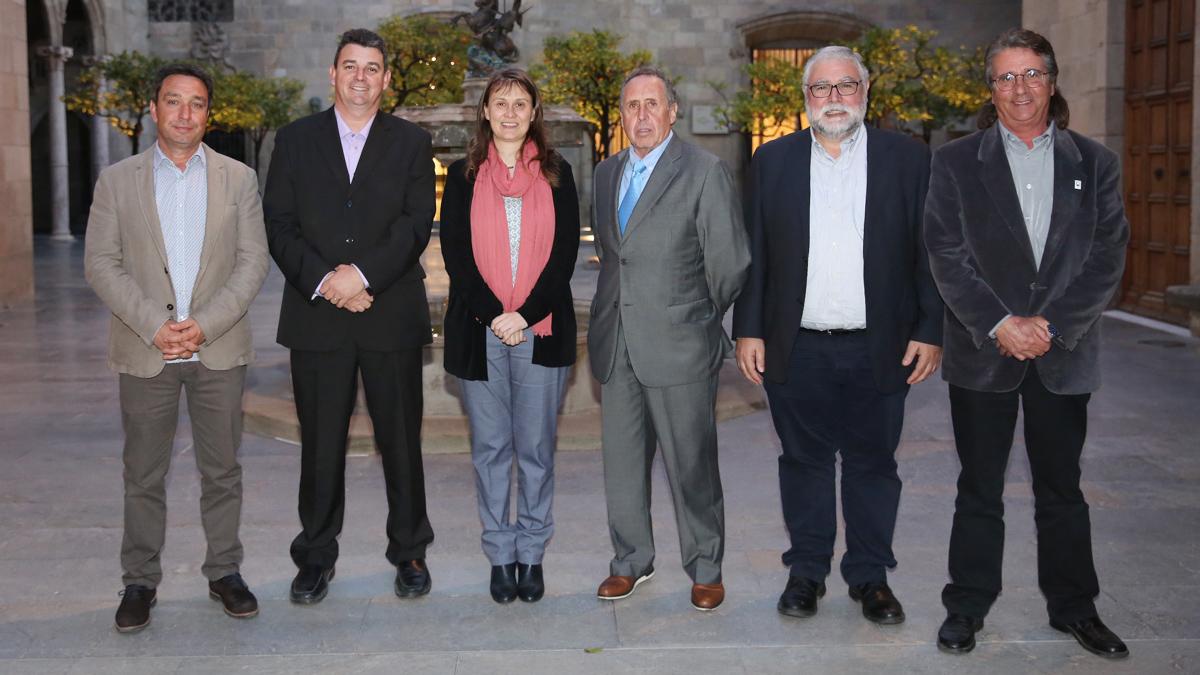 Dop les Garrigues - Recepcio Generalitat