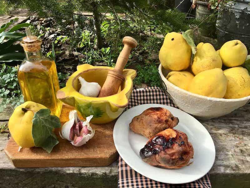 Ingredients allioli de codony